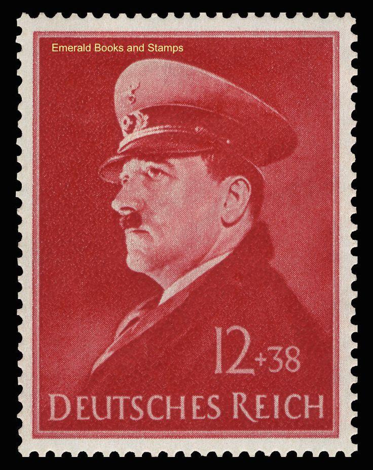 EBS Germany 1941 Hitler's 52nd Birthday - Geburtstag Hitlers - Michel 772 MNH** | eBay