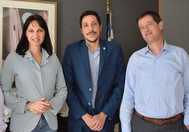 Συνάντηση της Υπουργού Τουρισμού με τον Αντιδήμαρχο Πύργου κ. Μπέλτσο για την τουριστική ανάπτυξη και προώθηση-προβολή του Δήμου Πύργου