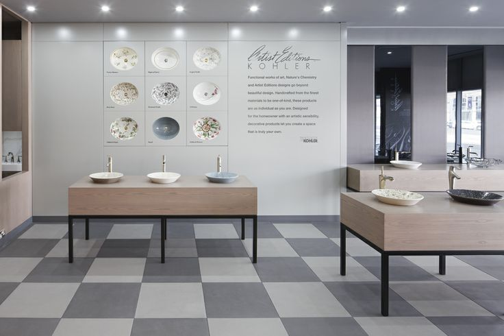 Kohler Showroom : Kohler Dubai showroom designed by Harvey Langston-Jones. http://www.m ...