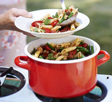 This quick and easy pasta and tuna dish brings summer flavours to your tastebuds all year round