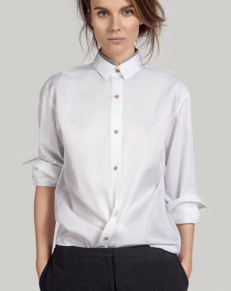 OVO Things Twill Shirt is an oversized fit shirt from the finest white twill from Caccioppoli.