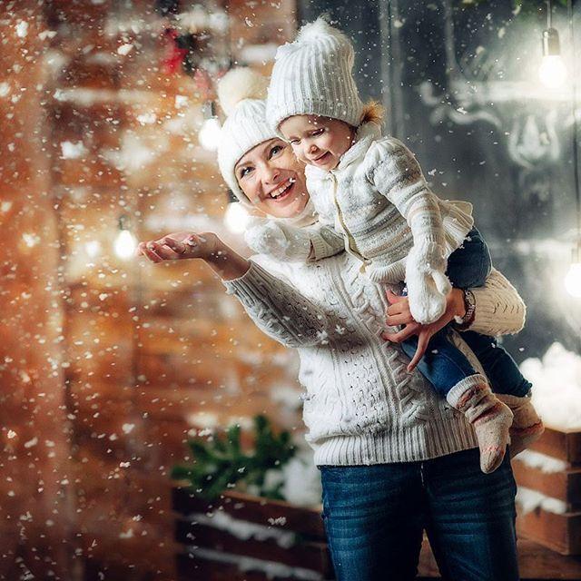 Обработка фотографий для новогодние фото