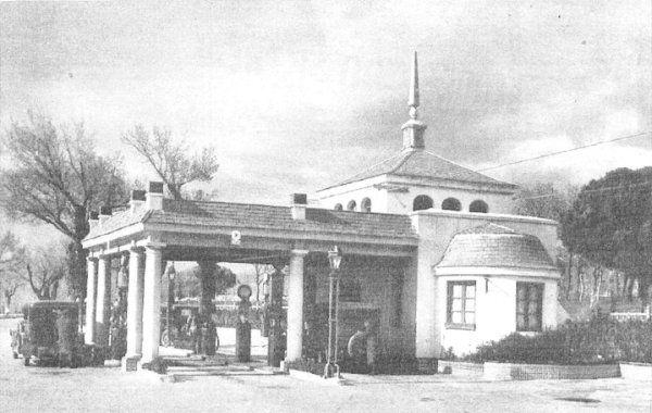 la primera gasolinera de Puerta de Hierro