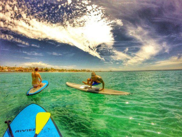 SUP Yoga with Kaenon Sunglasses   Style: Arlo #SummerStyle #SUP