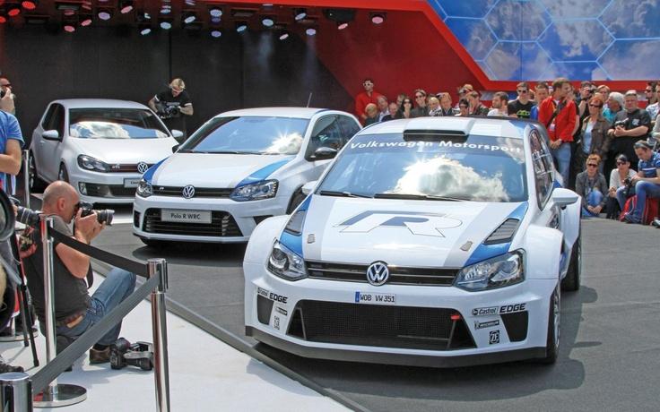 Volkswagen Polo R WRC in versiune de raliu si de strada