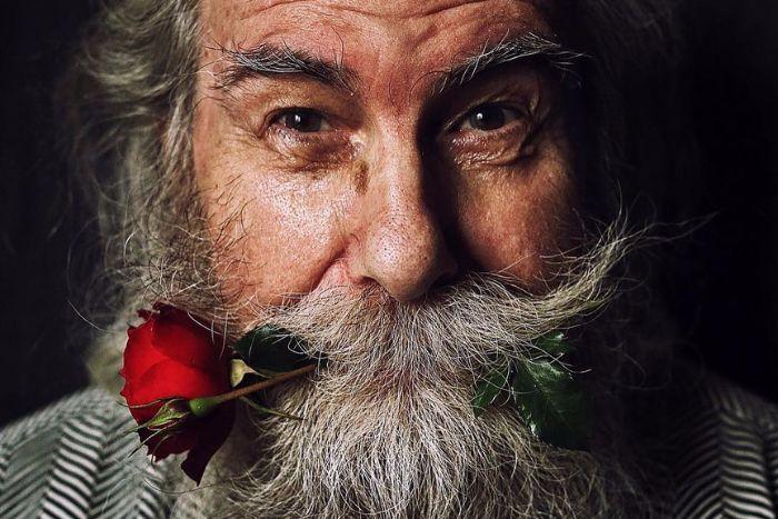 #ДедушкаБорись: петербургский фотограф создала фотопроект оборьбе ее 80-летнего дяди сраком