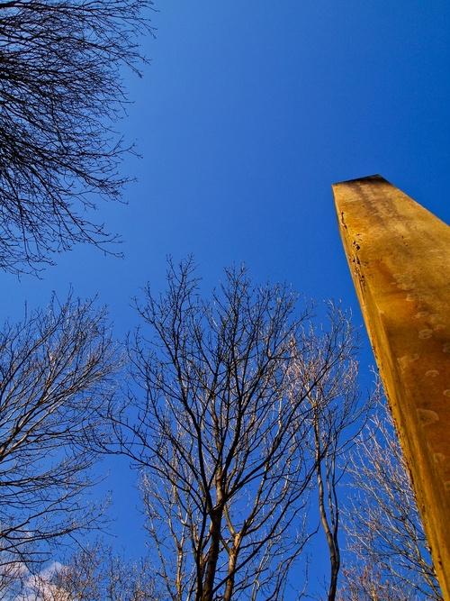 Obelisk at Arnos Vale Cemetery in #Bristol