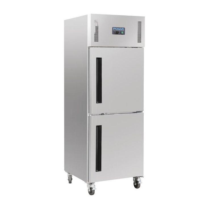 Armario frigorífico Gastronorm de una puerta doble Polar