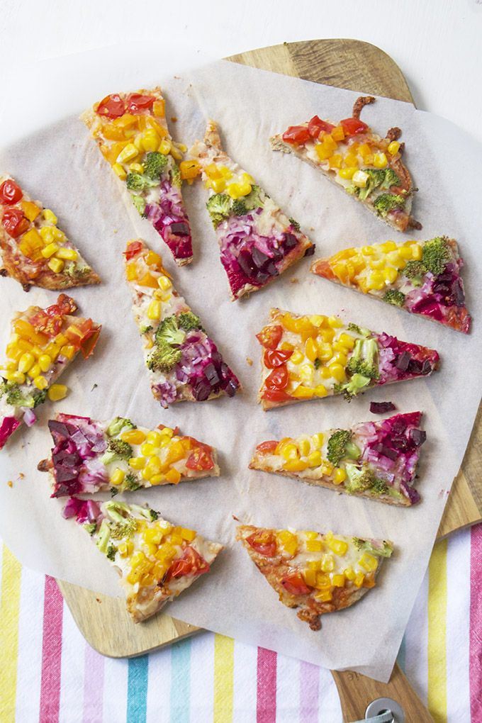 If you are looking for a quick meal idea then these rainbow pitta pizzas are perfect. It is a great way to get a range of vegetables into your child's diet