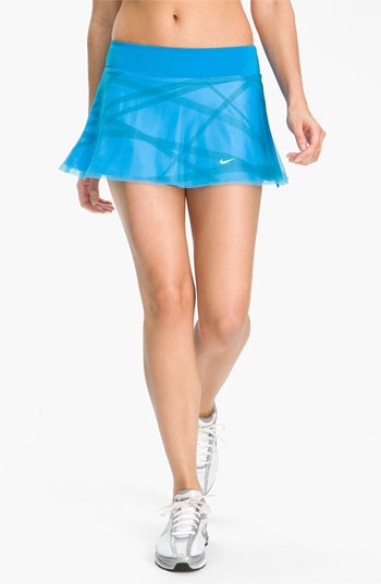 Nike 'Maria Back Court' Tennis Skirt available at #Nordstrom