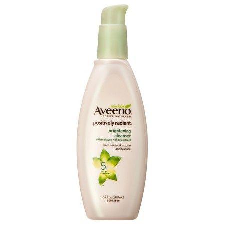 Aveeno® Positively Radiant® Brightening Cleanser- 6.7 Fl. Oz : Target