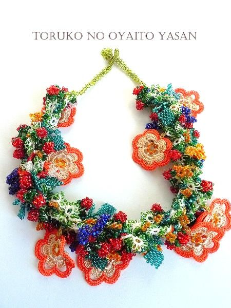 17 best images about crochet necklace on pinterest for Norton jewelry show 2017