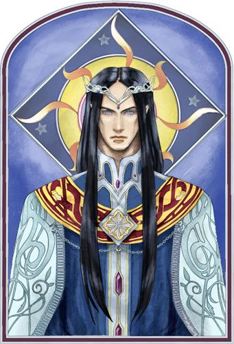 Fingolfin, High King of the Noldor by daLomacchi.deviantart.com: