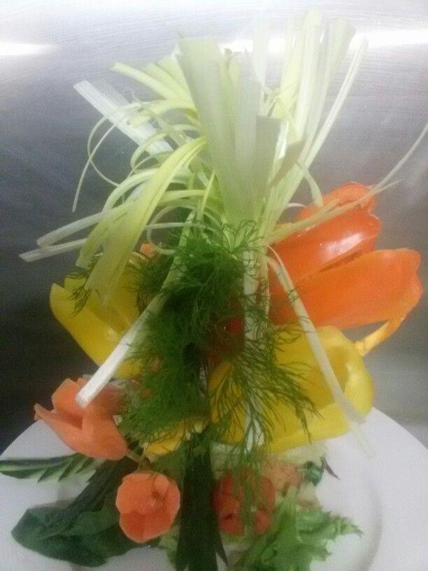 Vegetables bouquet. .