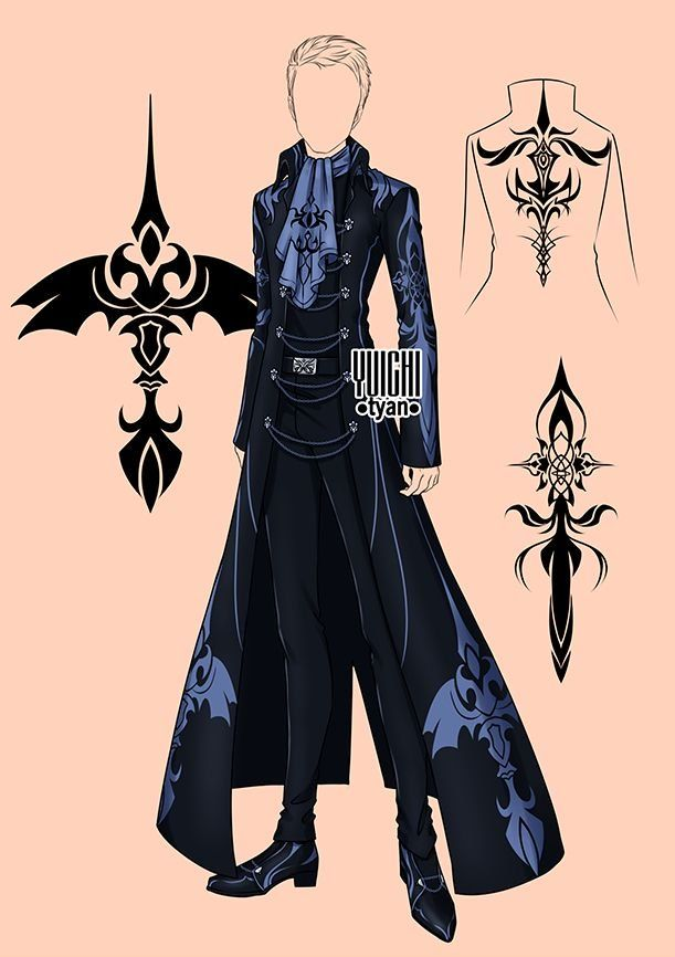 Cool Anime Outfits For Guys : anime, outfits, Don't, Freeze, Character, Outfits,, Prince, Clothes,, Fantasy, Clothing