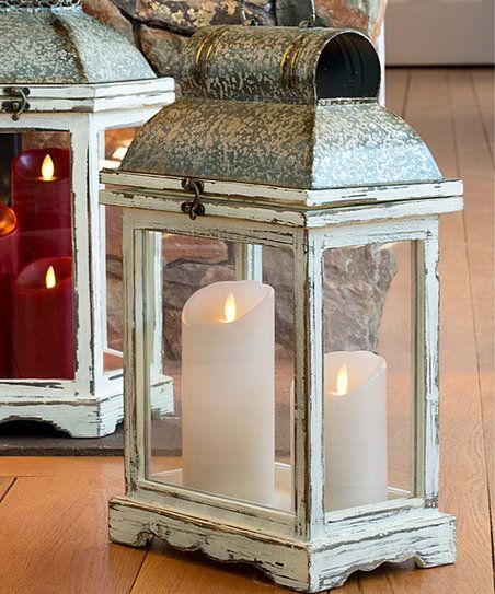 Plow & Hearth Small Rustic Indoor Lantern | zulily