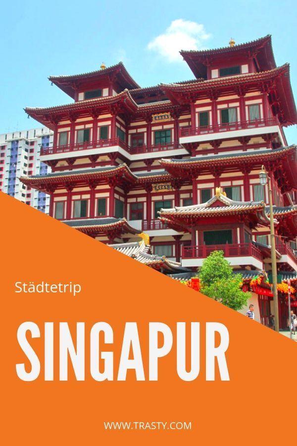 Unterwegs in der Weltstadt Singapur: Besuche Marin…
