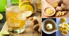 Prepara esta gaseosa natural a base de agua, jengibre, azúcar y limón para aliviar los malestares estomacales, los dolores corporales y los síntomas gripales.