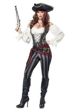 Adult Brazen Buccaneer Costume by Fancy Dress Ball