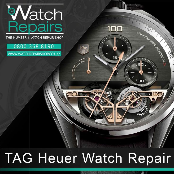 TAG Heuer Watch Repair Services at WatchRepairShop. we are located in 34-35 Hatton Garden London. EC1N 8DX. Our TAG Heuer professional service include. restoration. resealing. battery fitting. strap replacement. servicing and more. visit our official webpage at http://www.watchrepairshop.co.uk/?utm_content=buffer708a4&utm_medium=social&utm_source=pinterest.com&utm_campaign=buffer #watches #TAGHeuer #WatchRepair