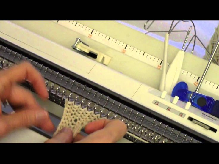 Diana teaches an attractive cabled edge for any Japanese knitting machine! Step-by-step video shows you exactly how to make this terrific edge trim. Visit Di...