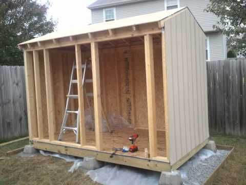 How to build a shed tutorial - Longer Version