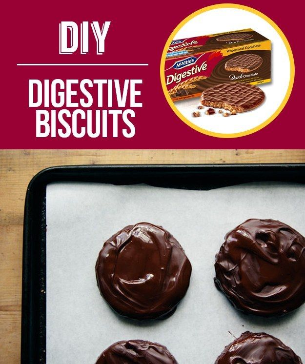 Digestive Biscuits | 29 Foods You Didn't Know You Could DIY