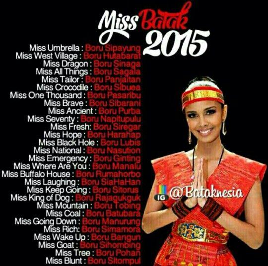 Miss Batak  Oleh Atbataknesia Di Lucu Lucuan Bahasa Indonesia Pinterest Jokes Smile And Funny