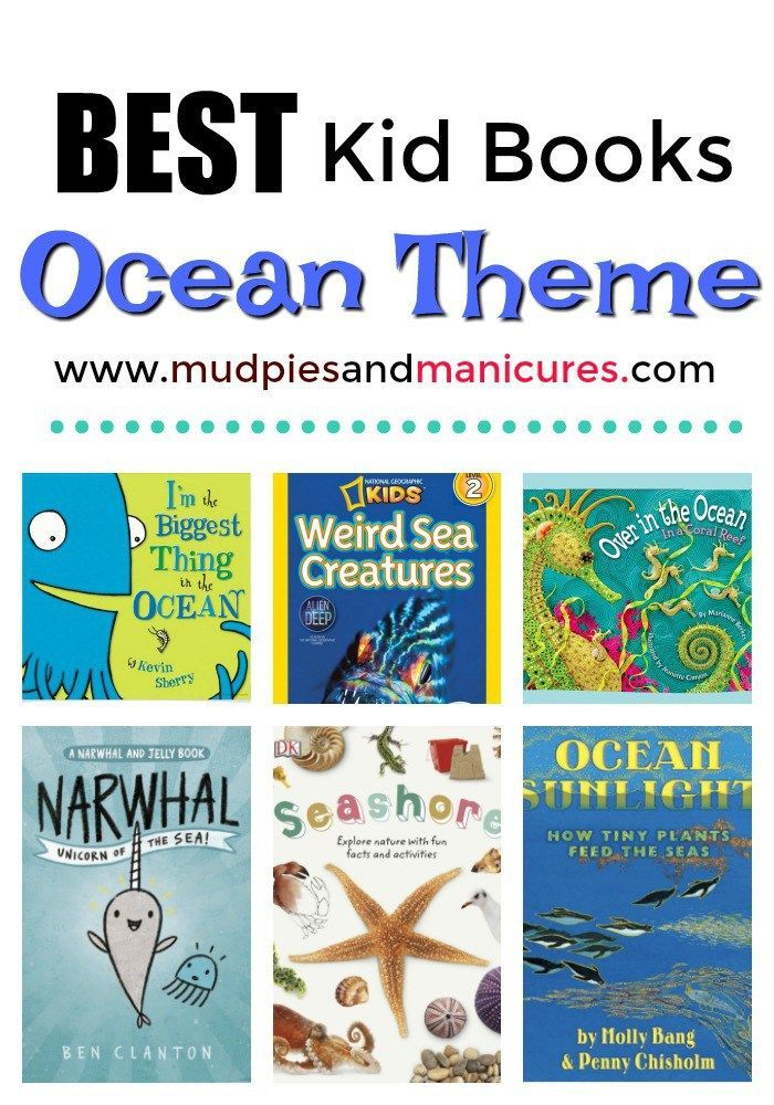 Best Kids Books Ocean Theme Best Children Books Ocean Themes