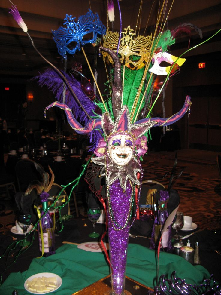 Mardi Gras Centerpieces Mardi Gras Centerpieces