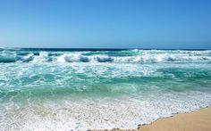 Beautiful Beach Desktop | 1440x900 beautiful Blue stormy sea of beach desktop backgrounds wide ...