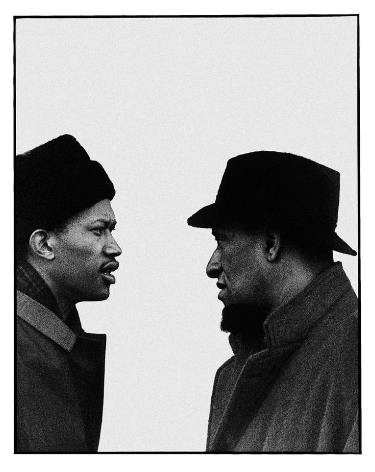 Sonny Rollins and Don Cherry. Milano 1963 @Dan Phillips