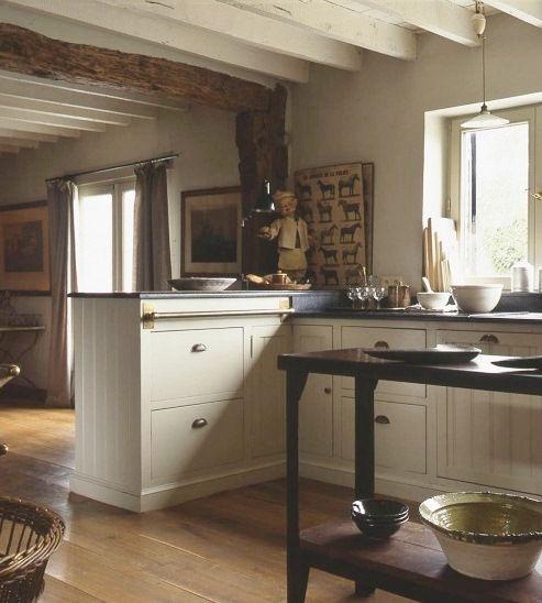 farmhouse kitchen lighting   ... Adds Historic Charm to Farmhouse Kitchen   Industrial FarmHouse