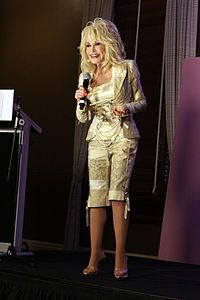 Dolly Parton in a Press Conference (Australia, 2011).