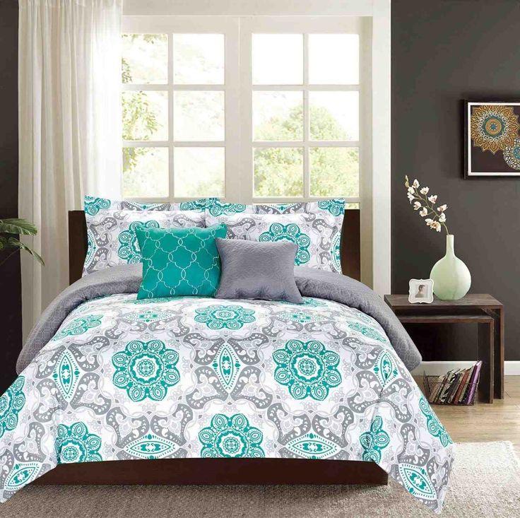 Best 25+ Purple And Grey Bedding Ideas On Pinterest