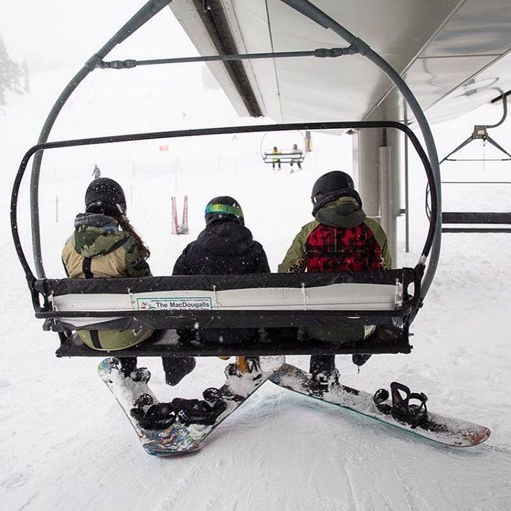 """Burton Girls on Instagram: """"Going up. #BurtonGirls #Ridingisthereason #Snowboarding"""""""