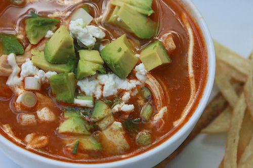 Chicken Tortilla Soup   Mexican Food, Comida Mexicana