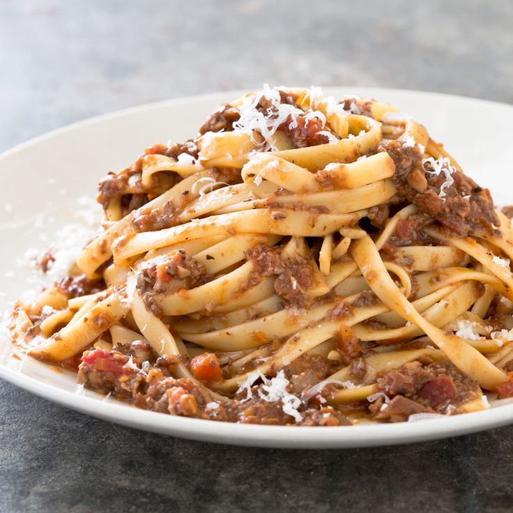 Serves4 to 6• Gluten-Free Why This Recipe Works: We wanted to create a vegetarian pasta sauce that mimicked the rich, long-cooked flavor and hearty texture of Bolognese. Traditional Bolognese sau...