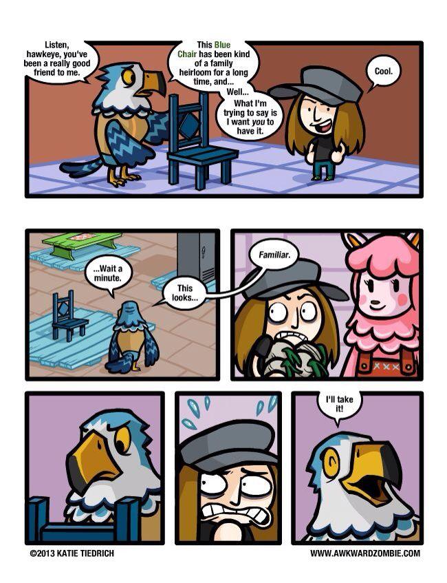 Animal Crossing New Leaf Comic #videogames #newleaf #3ds