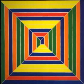 Color Maze - Frank Stella- 1966 - Geometric Abstraction
