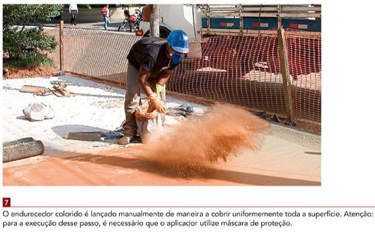 Conhe ç a os procedimentos necess á rios para executar um piso de concreto estampado     Indicado para áreas externas, sobretudo calçadas,...