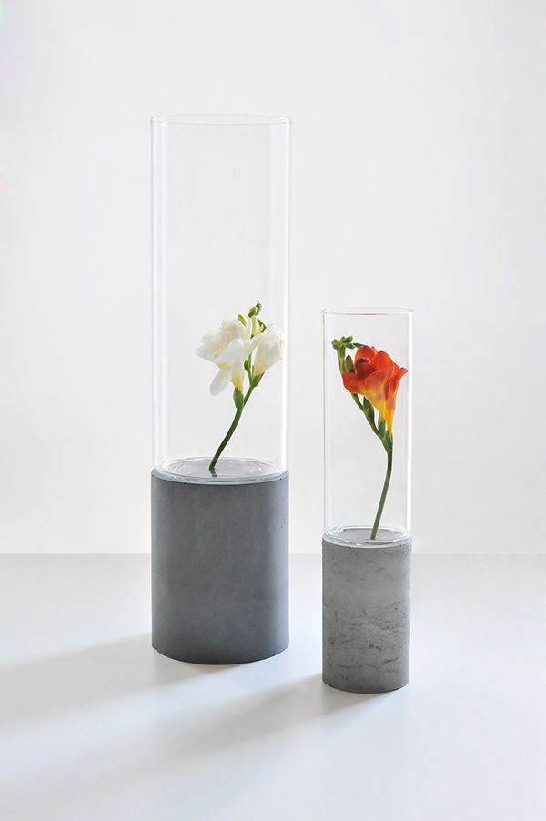 beton + sticla