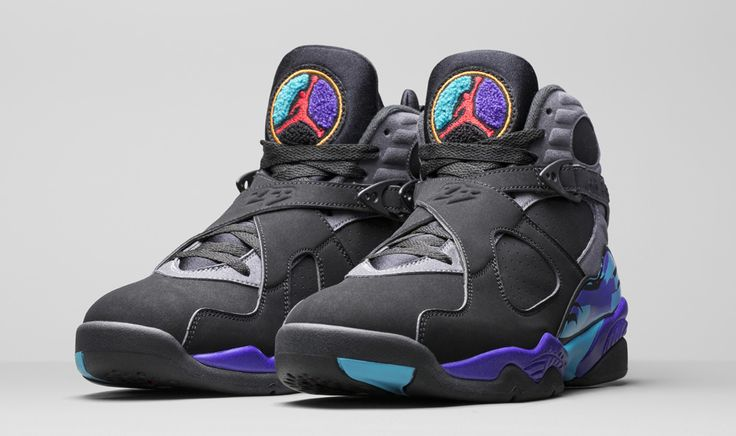 "The remastered ""Aqua"" Air Jordan 8 for Holiday 2015"