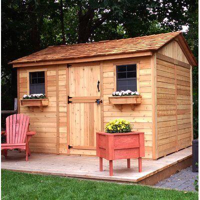 Outdoor Living Today Cabana 12 ft. W x 8 ft. D Wood ... on Outdoor Living Today Cabana id=53601