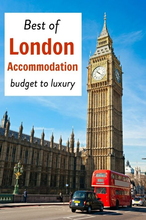5 of the best London accommodation options from budget to luxury. Check out this list of 3-5 star hotels, apartments and hostels.