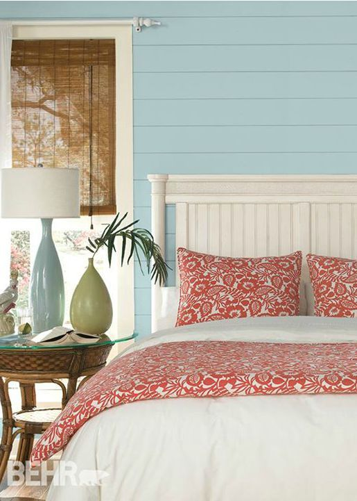 light blue and coral bedroom 41 best images about seaside style inspiration on 19025