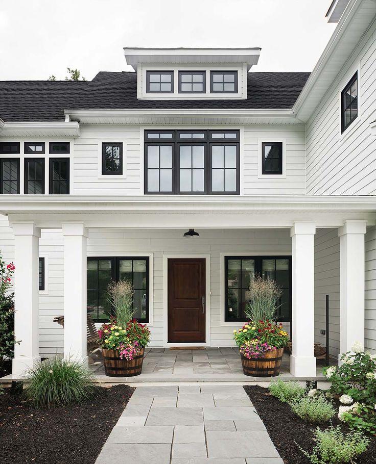 Contemporary farm style house design