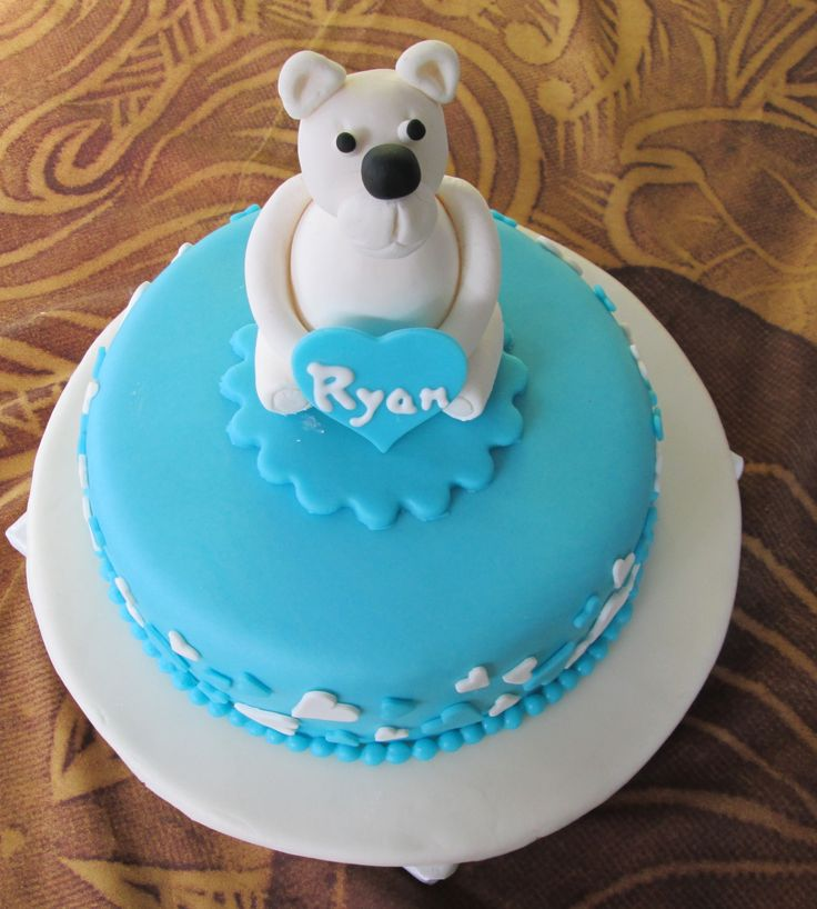 Ryan's Naming Day Cake
