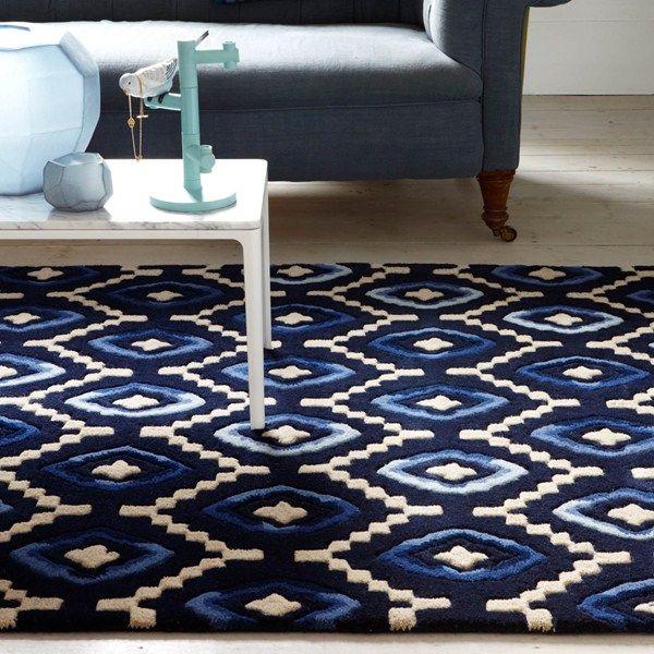 Origins rugs ori01 in blue buy online from the rug seller uk