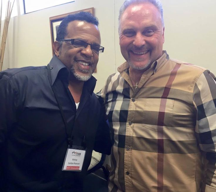 With Bishop Carlton Pearson @ TFAM Convocation